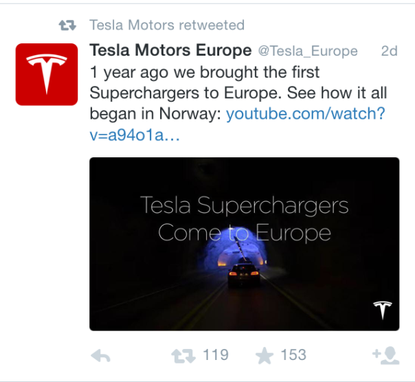 Superchargers come to Europe